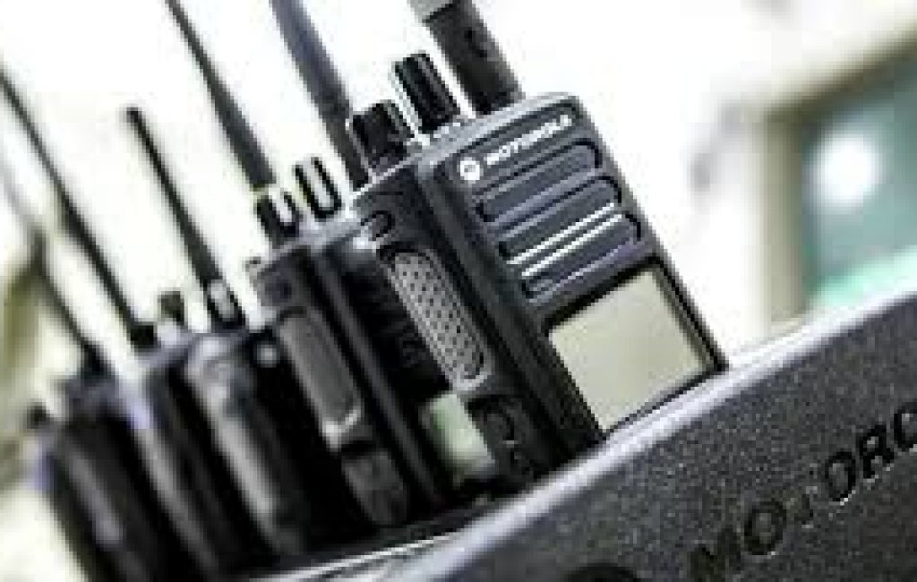 2Way Radios in Charger