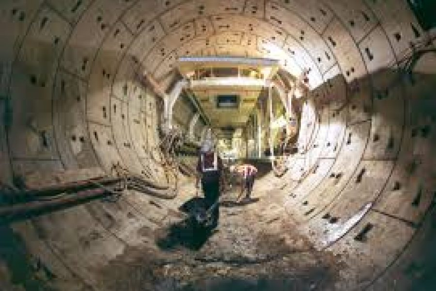 Tunnelling Crossrail